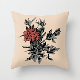 Floral Thyme Throw Pillow