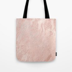 Rose Gold Foil Tote Bag