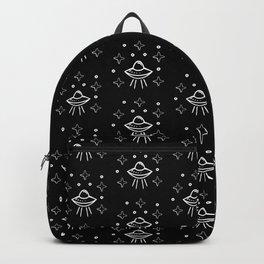 Spaceship  pattern Backpack