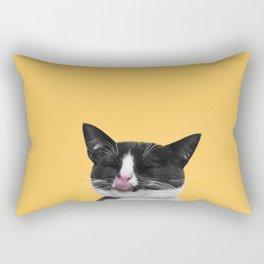 Kitty Meow Rectangular Pillow