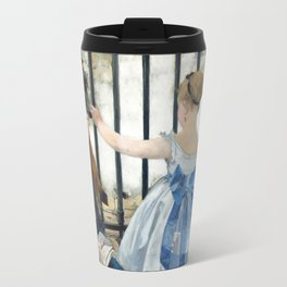 Edouard Manet - Le Chemin de fer (The Railroad) Travel Mug