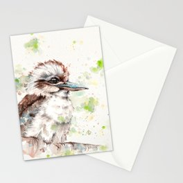 A Kookaburras Gaze Stationery Cards