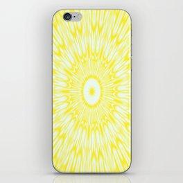 The Sun : Kaleidoscope Mandala iPhone Skin