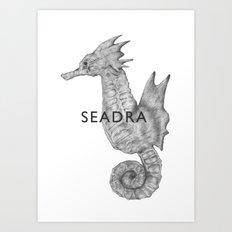 Seadra #117 Art Print
