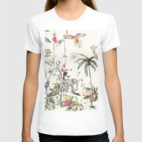jungle T-shirts featuring Jungle by Annet Weelink Design