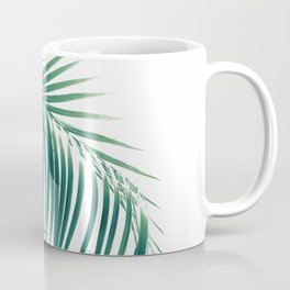Palm Leaves Green Vibes #6 #tropical #decor #art #society6 Coffee Mug