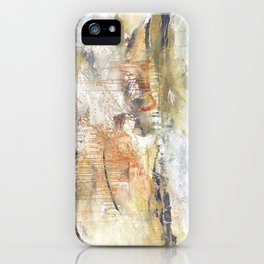 Stormy Times Past, Moving Forward iPhone Case