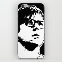 rocky horror picture show iPhone & iPod Skins featuring Brad Majors (Rocky Horror Picture Show) by Blake Lee Ferguson
