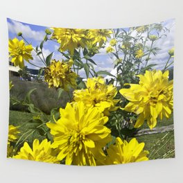 POWER FLOWER Wall Tapestry