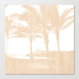 Tropical wood Canvas Print