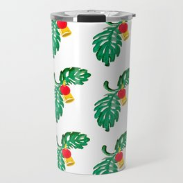 Holly Jolly Holiday Christmas Decor Travel Mug