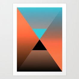Triangle 4 Art Print