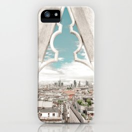Framed city view - Milano iPhone Case