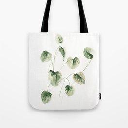 Drop Leafs Tote Bag