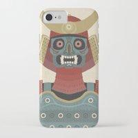samurai iPhone & iPod Cases featuring Samurai by James White