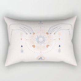 Leo zodiac Rectangular Pillow