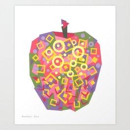 Apple (Pomme) Art Print
