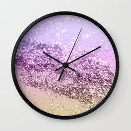 Unicorn Girls Glitter #13 #shiny #decor #art #society6 Wall Clock