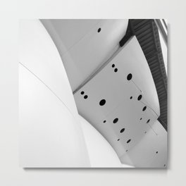 Architecture Study, Downtown Los Angeles Metal Print