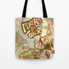 I dream in color Tote Bag