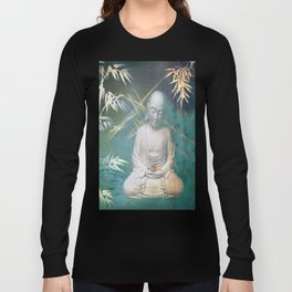Buddha's awakening from deep meditation Long Sleeve T-shirt
