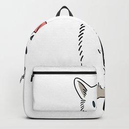 Weißer Schäferhund Backpack