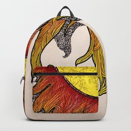 i really just want to be warm yellow light that pours over everyone i love Backpack