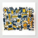 Fun LOVE and colorful art BED COMFORTER or Shower Curtain by robertr