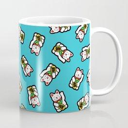 Lucky Cat Pattern Coffee Mug