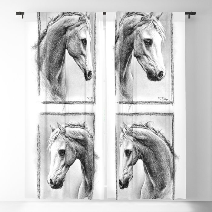 Horse 1 Blackout Curtain