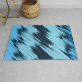 stripes wave pattern 7v1 coi Rug