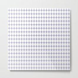 vanille gray Metal Print