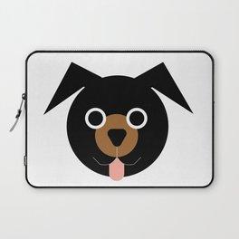 Black & Brown Dog Laptop Sleeve