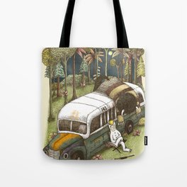 Into The Wild Things Tote Bag