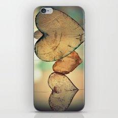 Vintage Boho Chic Bokeh Hearts Wind Chimes iPhone & iPod Skin