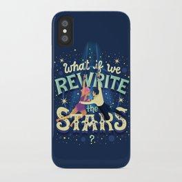 Rewrite the stars iPhone Case