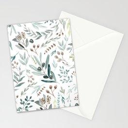 Eucalyptus Leaf Stationery Cards