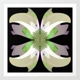 La Buena Flor Art Print