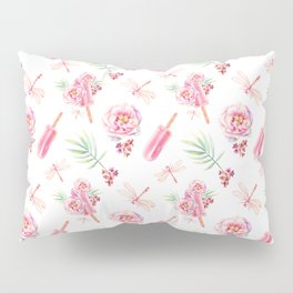 Hawaiian Dream Pop Pattern Pillow Sham