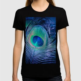 Peacock Feather Blush T-shirt
