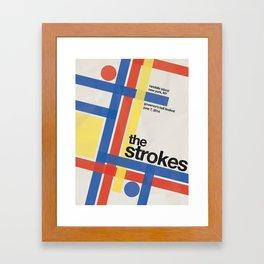 The Strokes Gov Ball Framed Art Print