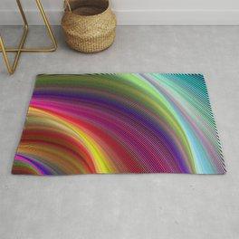 Vortex of colors Rug