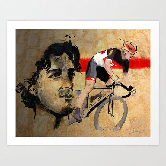 Fabian Cancellara Art Print