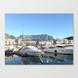 Views In Cape Town Canvas Print
