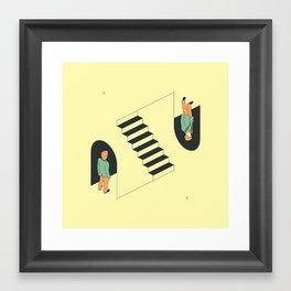 Doppelgänger Framed Art Print