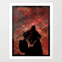 smoking Art Prints featuring Smoking by Nicholas G. Benvenuto