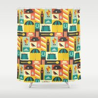 mary poppins Shower Curtains featuring Mary Poppins by Ariel Wilson