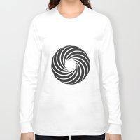 """vertigo Long Sleeve T-shirts featuring """"Vertigo""""  by D3LT4"""