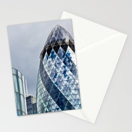 London Gherkin Abstract Stationery Cards