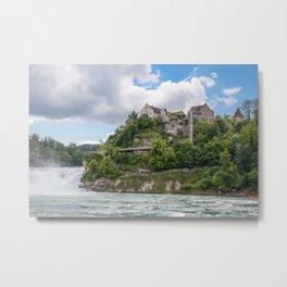 The Rhine falls Metal Print